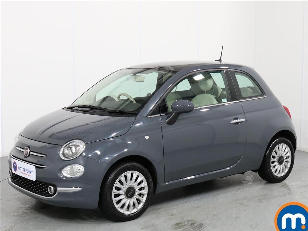 Fiat 500 Lounge - Stock Number 1068438 Passenger side front corner
