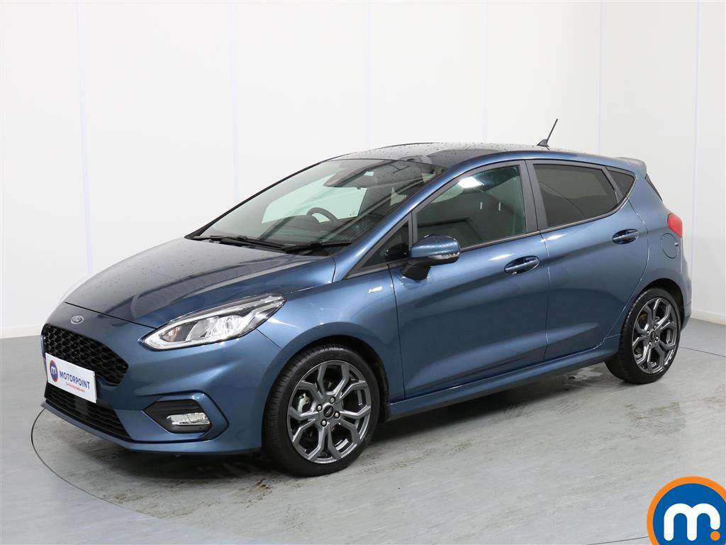 Ford Fiesta ST-Line - Stock Number 1065553 Passenger side front corner