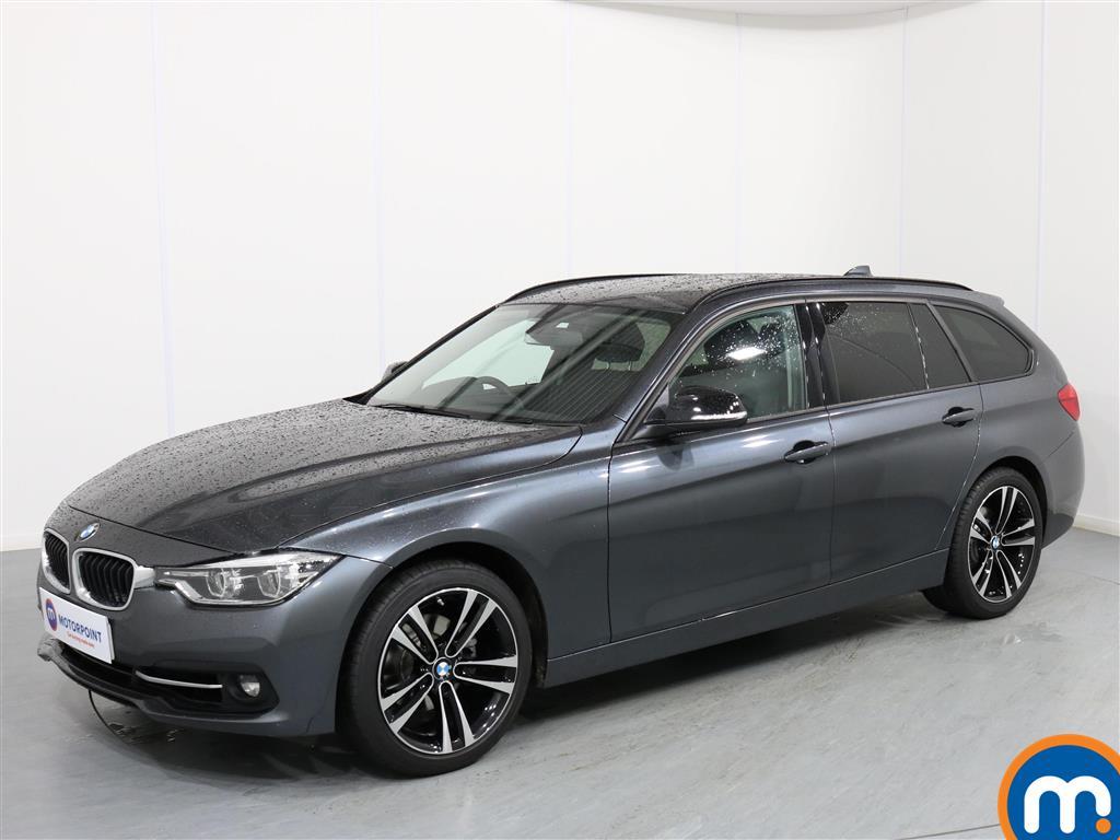 BMW 3 Series Sport - Stock Number 1065045 Passenger side front corner