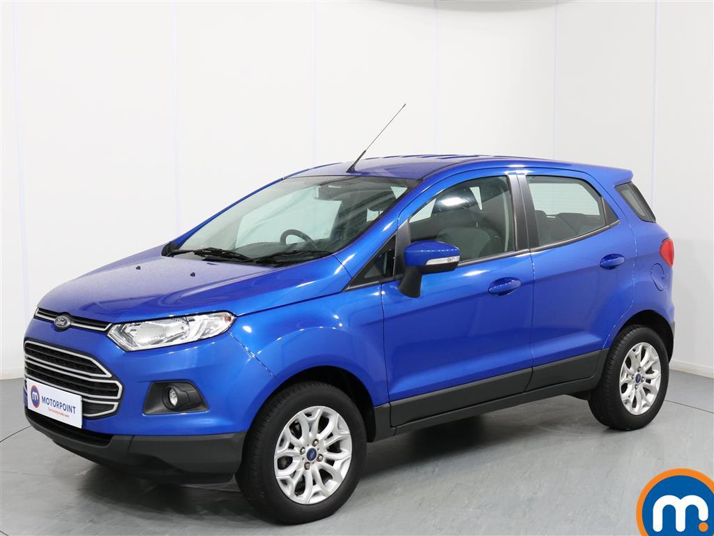 Ford Ecosport Zetec - Stock Number 1066135 Passenger side front corner