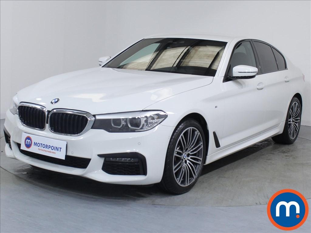 BMW 5 Series M Sport - Stock Number 1065361 Passenger side front corner