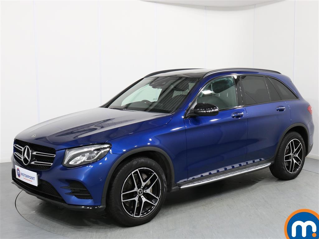 Mercedes-Benz GLC Night Edition - Stock Number 1064423 Passenger side front corner