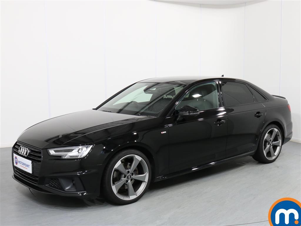 Audi A4 Black Edition - Stock Number 1065295 Passenger side front corner