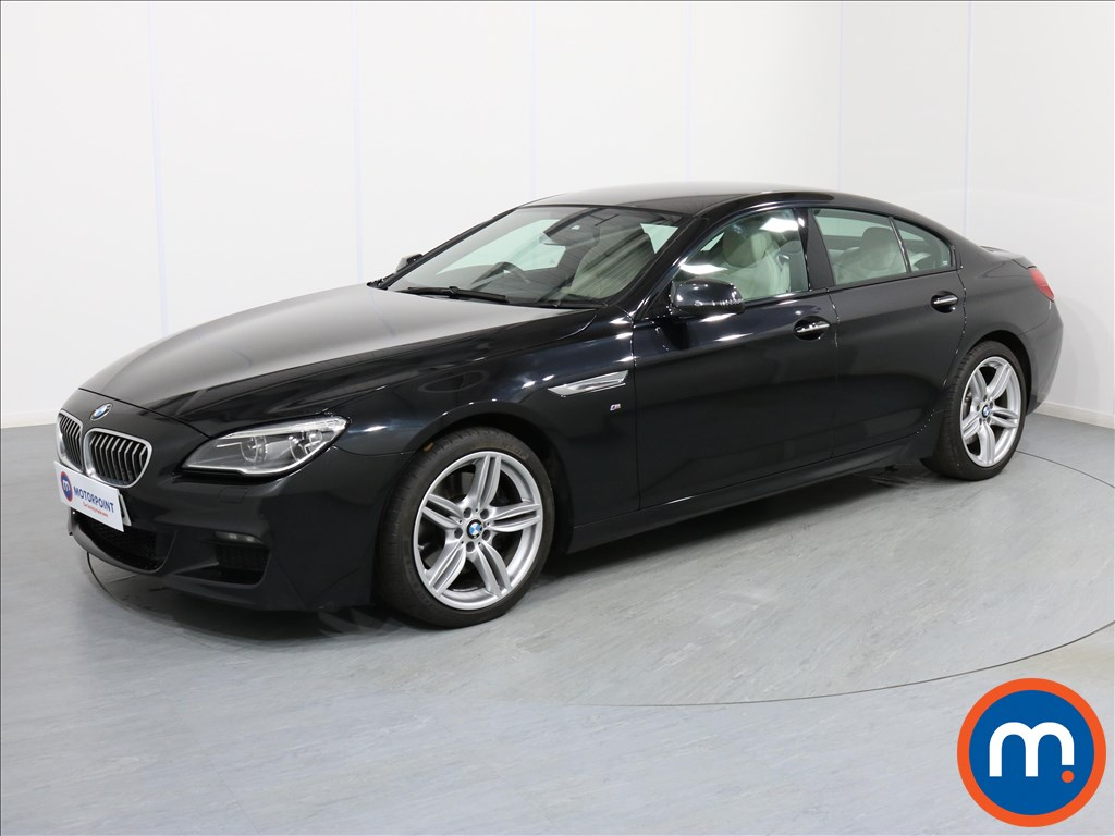 BMW 6 Series M Sport - Stock Number 1065900 Passenger side front corner