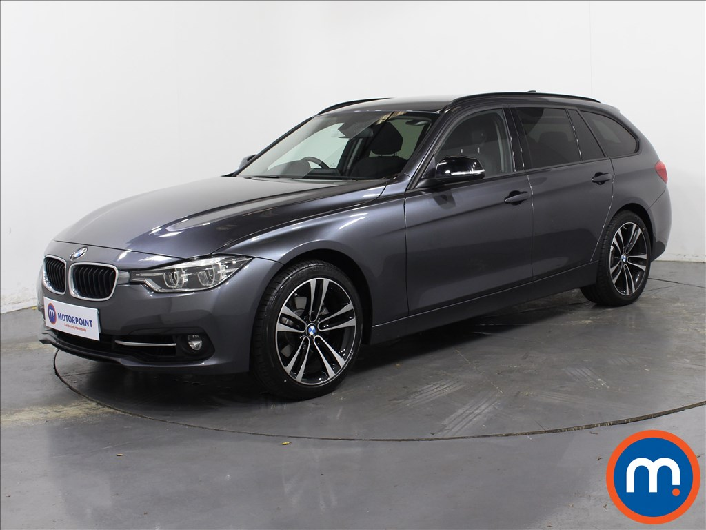 BMW 3 Series Sport - Stock Number 1065042 Passenger side front corner