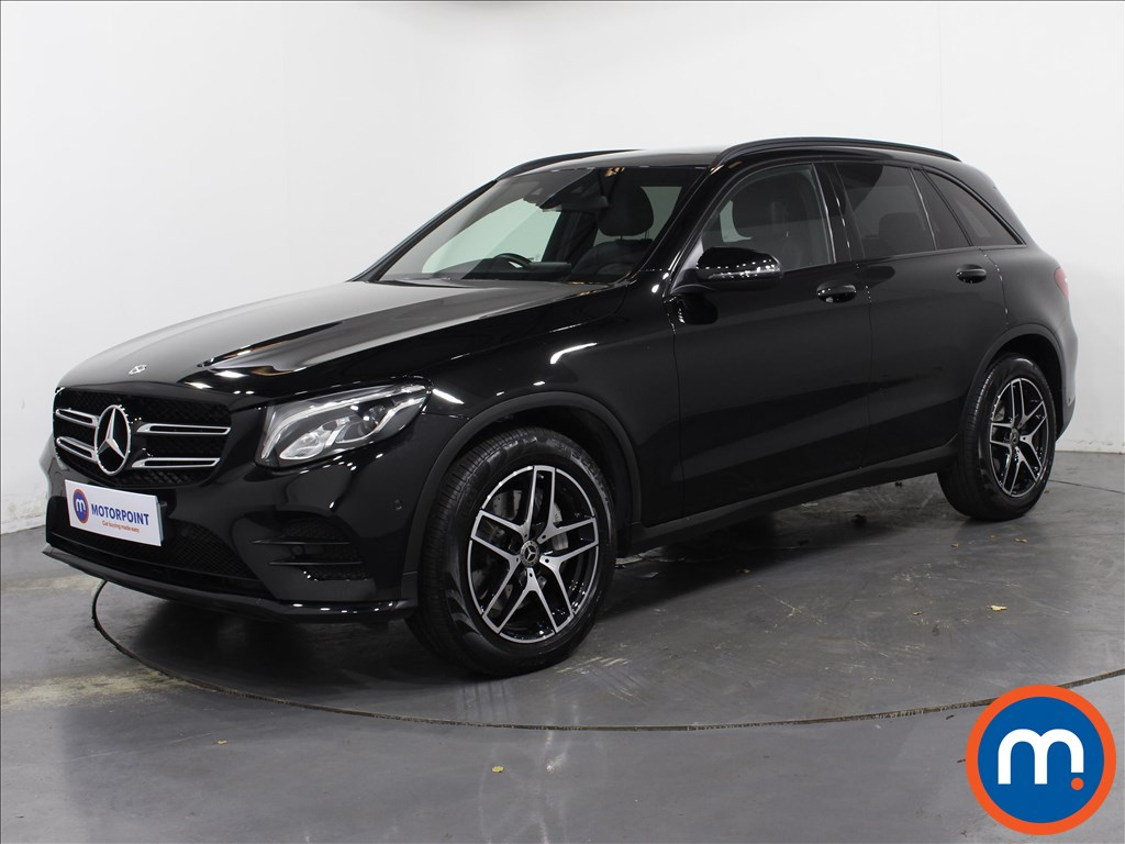 Mercedes-Benz GLC Night Edition - Stock Number 1063762 Passenger side front corner