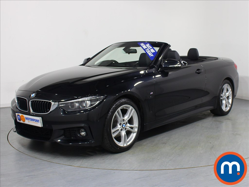 BMW 4 Series M Sport - Stock Number 1065892 Passenger side front corner
