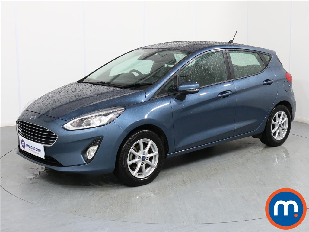Ford Fiesta Zetec - Stock Number 1068416 Passenger side front corner