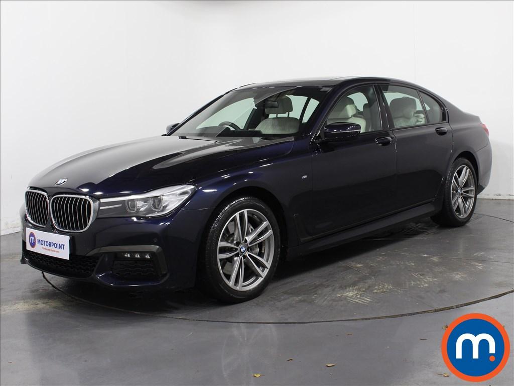BMW 7 Series M Sport - Stock Number 1067776 Passenger side front corner