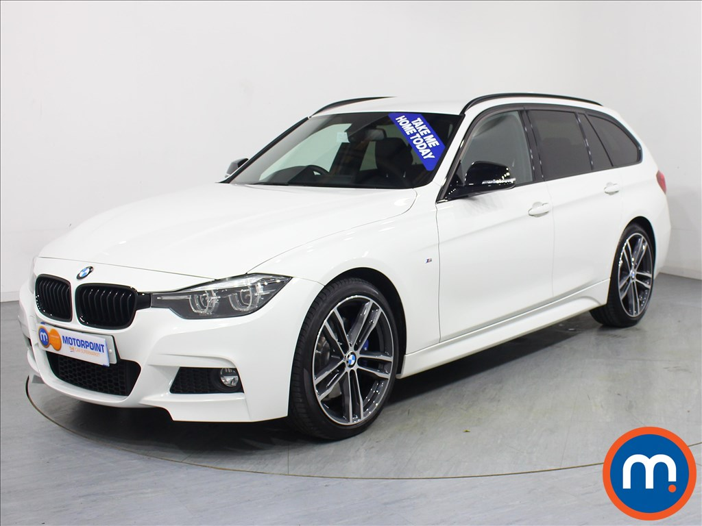 BMW 3 Series M Sport Shadow Edition - Stock Number 1065320 Passenger side front corner