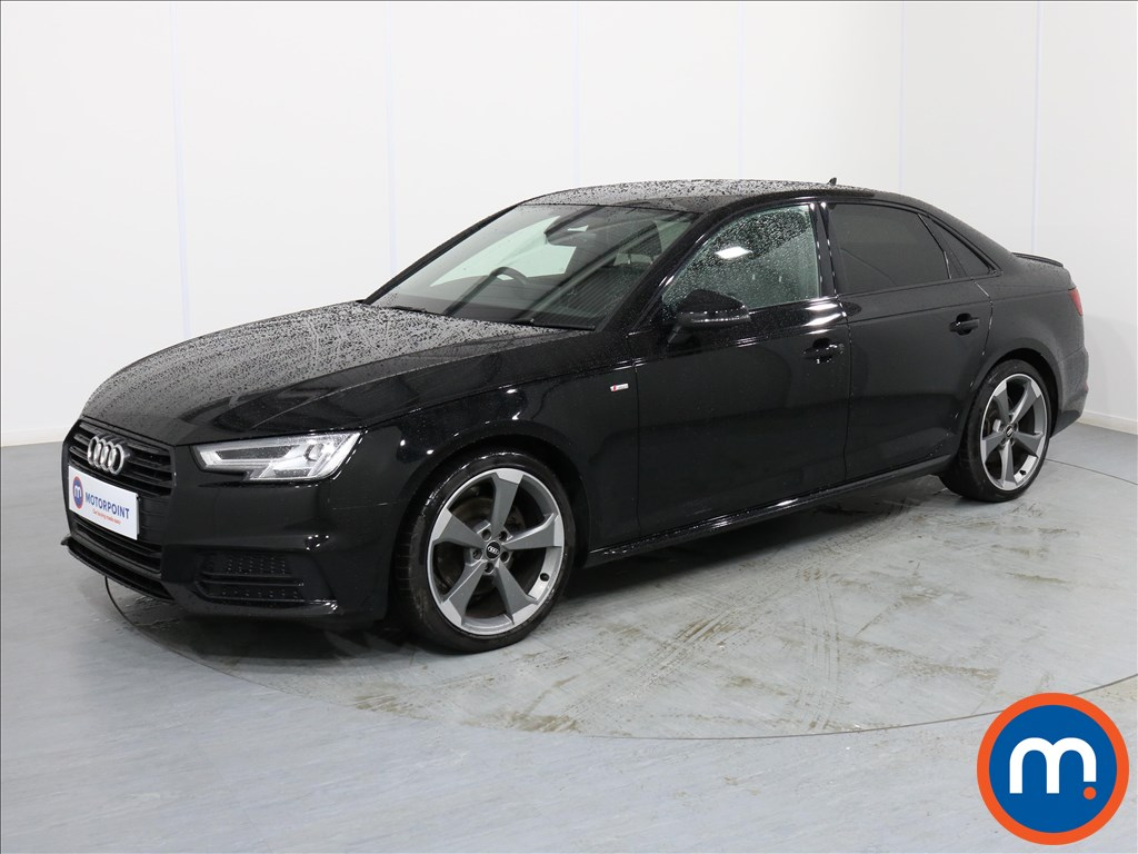 Audi A4 Black Edition - Stock Number 1067061 Passenger side front corner