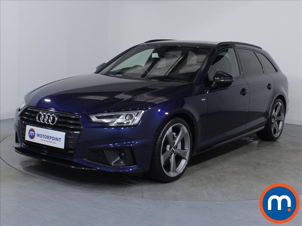 Audi A4 Black Edition - Stock Number 1067764 Passenger side front corner