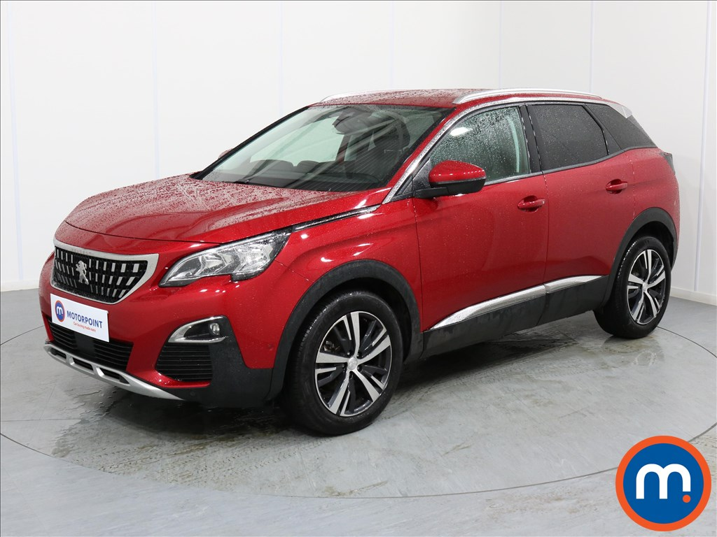 Peugeot 3008 Allure - Stock Number 1066031 Passenger side front corner