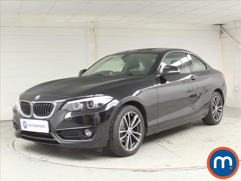 BMW 2 Series Sport - Stock Number 1065646 Passenger side front corner