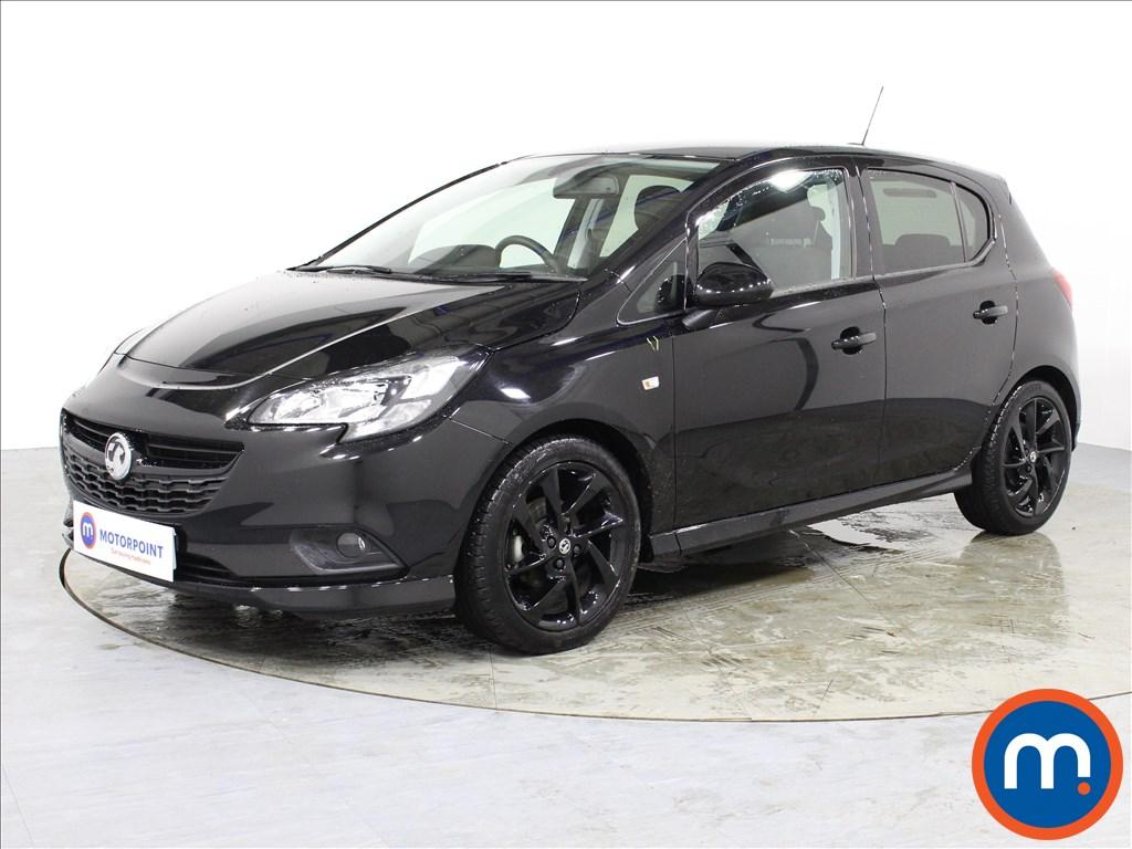 Vauxhall Corsa SRi Vx-line Nav Black - Stock Number 1065452 Passenger side front corner