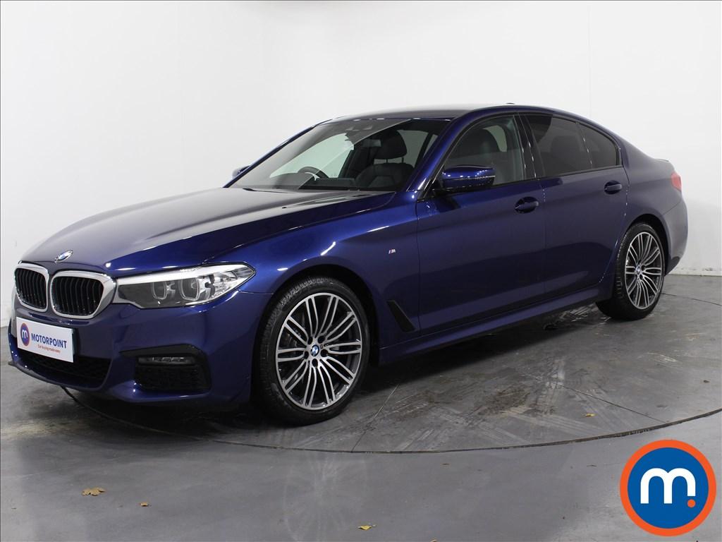 BMW 5 Series M Sport - Stock Number 1065360 Passenger side front corner