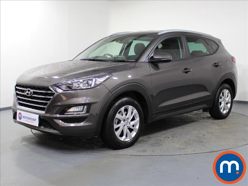 Hyundai Tucson SE Nav - Stock Number 1067146 Passenger side front corner