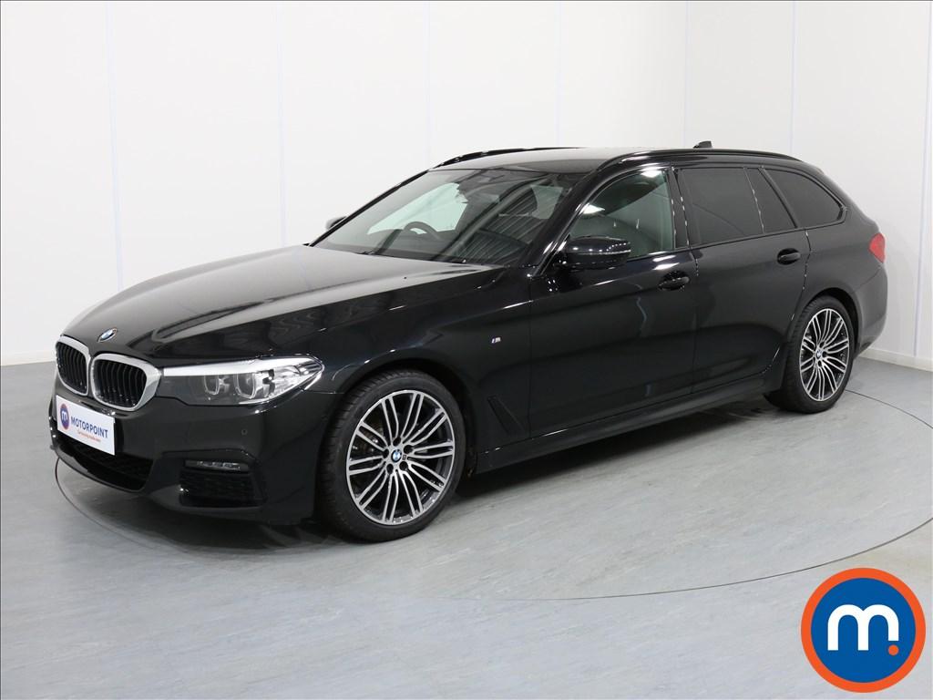 BMW 5 Series M Sport - Stock Number 1063737 Passenger side front corner