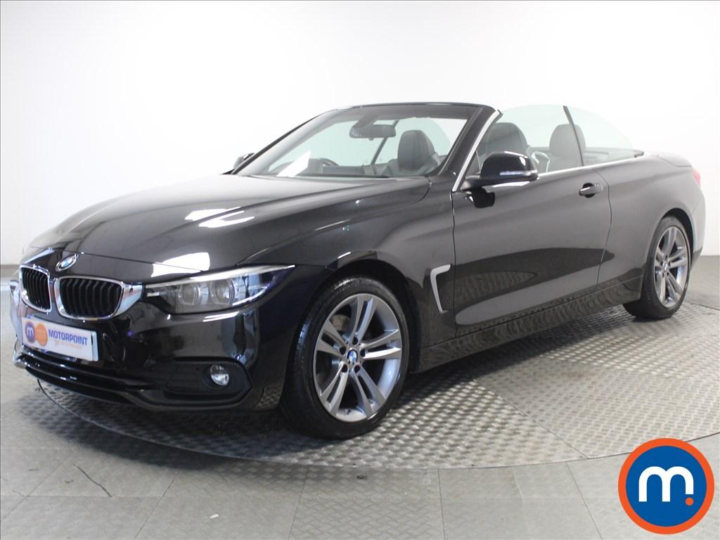 BMW 4 Series Sport - Stock Number 1060288 Passenger side front corner