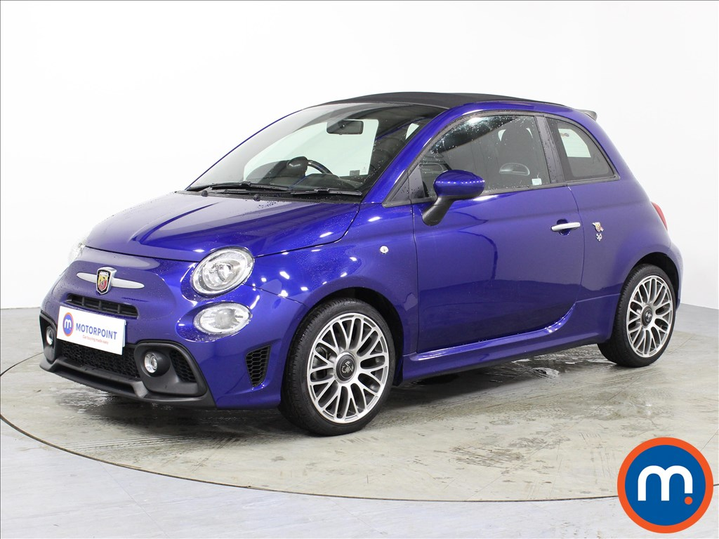 Abarth 595 1.4 T-Jet 145 2dr - Stock Number 1062543 Passenger side front corner