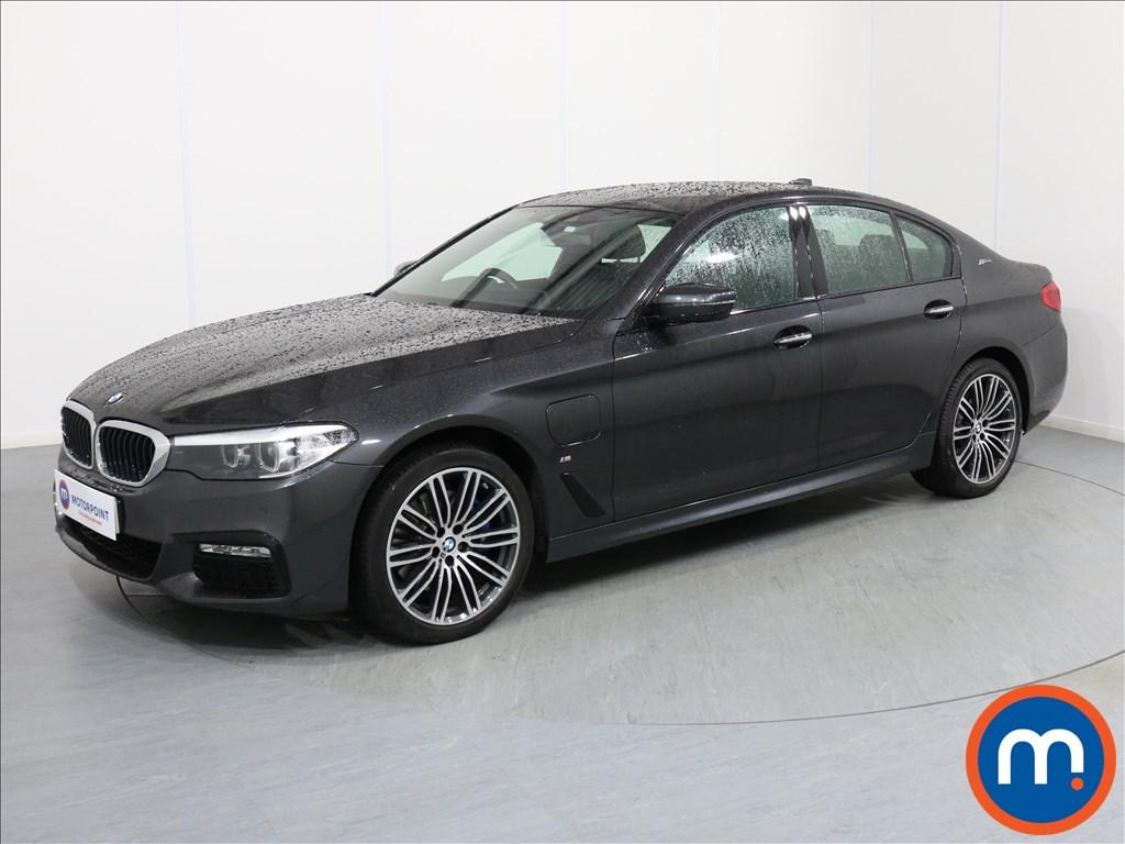 BMW 5 Series M Sport - Stock Number 1065897 Passenger side front corner