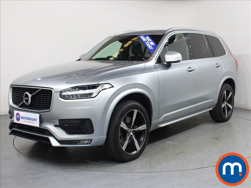 Volvo Xc90 R DESIGN - Stock Number 1066426 Passenger side front corner