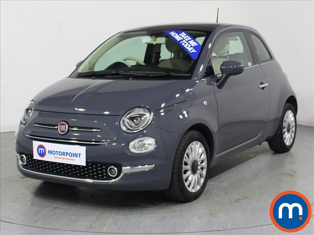 Fiat 500 Lounge - Stock Number 1067908 Passenger side front corner