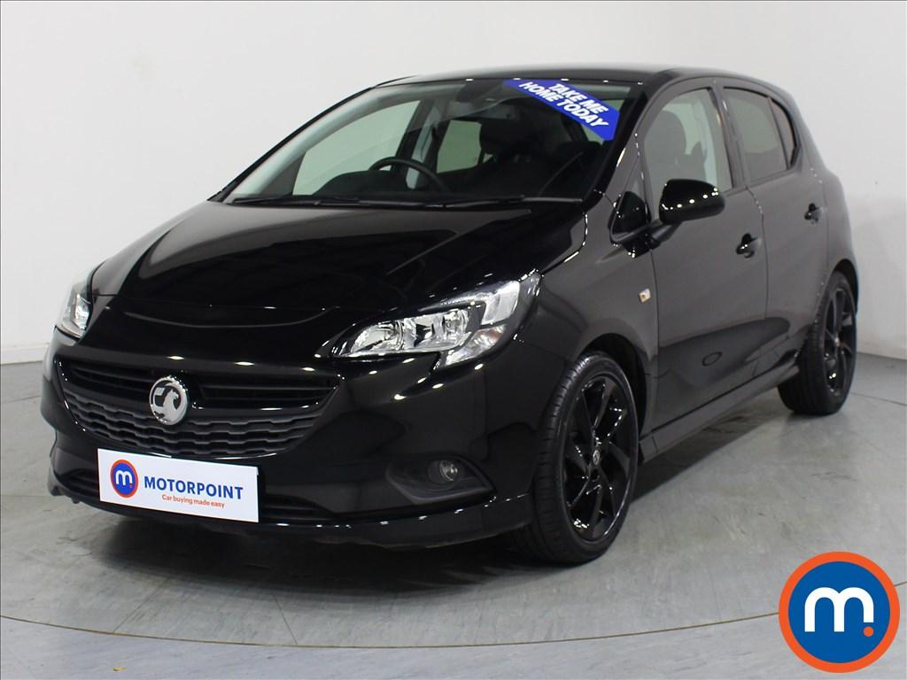 Vauxhall Corsa SRi Vx-line Nav Black - Stock Number 1065472 Passenger side front corner