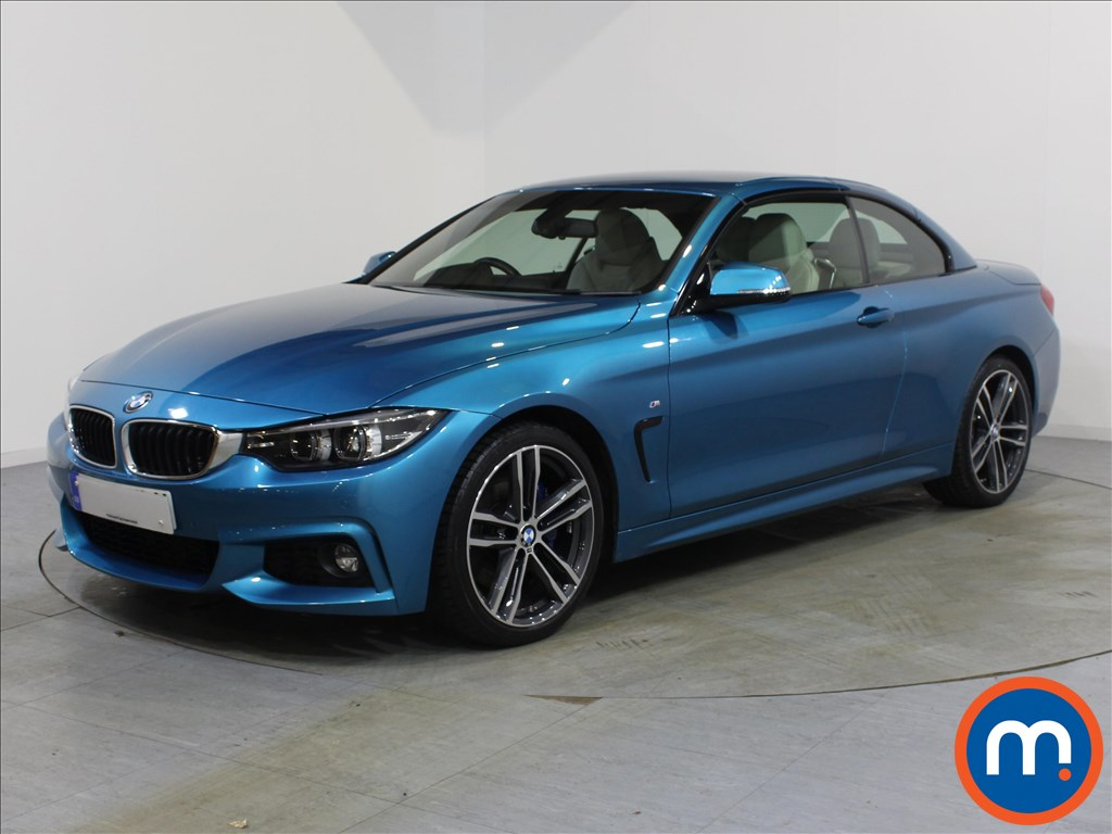 BMW 4 Series M Sport - Stock Number 1068526 Passenger side front corner