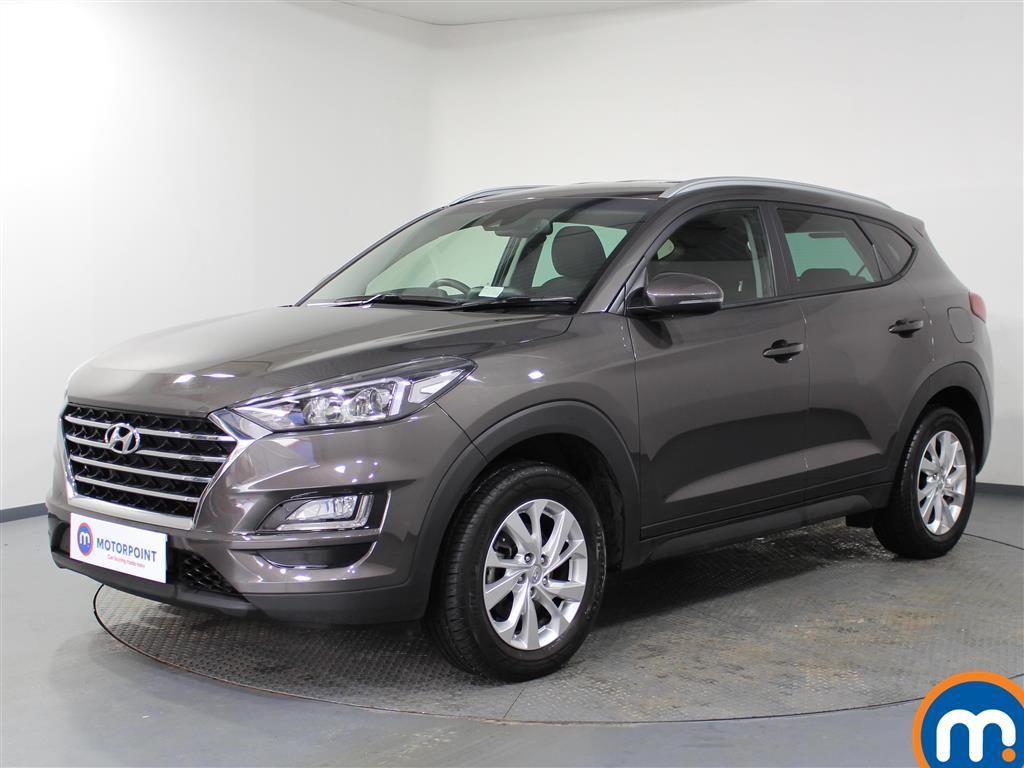Hyundai Tucson SE Nav - Stock Number 1067140 Passenger side front corner