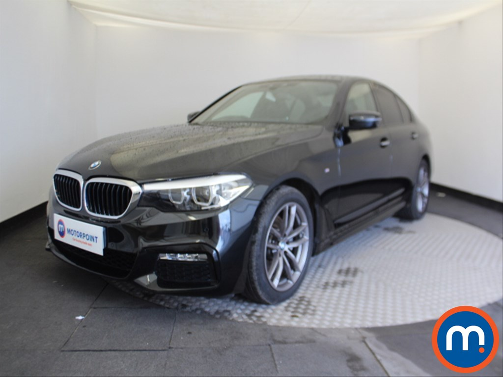 BMW 5 Series M Sport - Stock Number 1068142 Passenger side front corner
