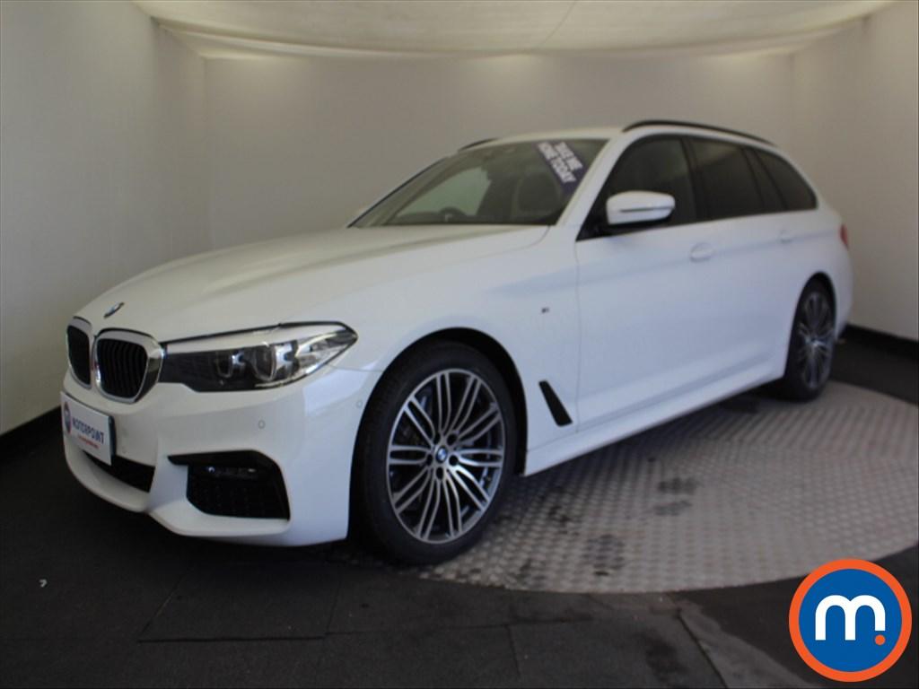 BMW 5 Series M Sport - Stock Number 1061394 Passenger side front corner