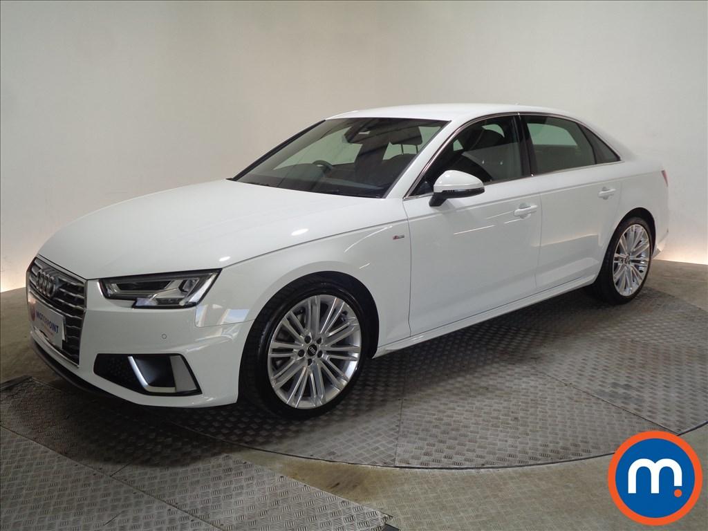 Audi A4 S Line - Stock Number 1065296 Passenger side front corner