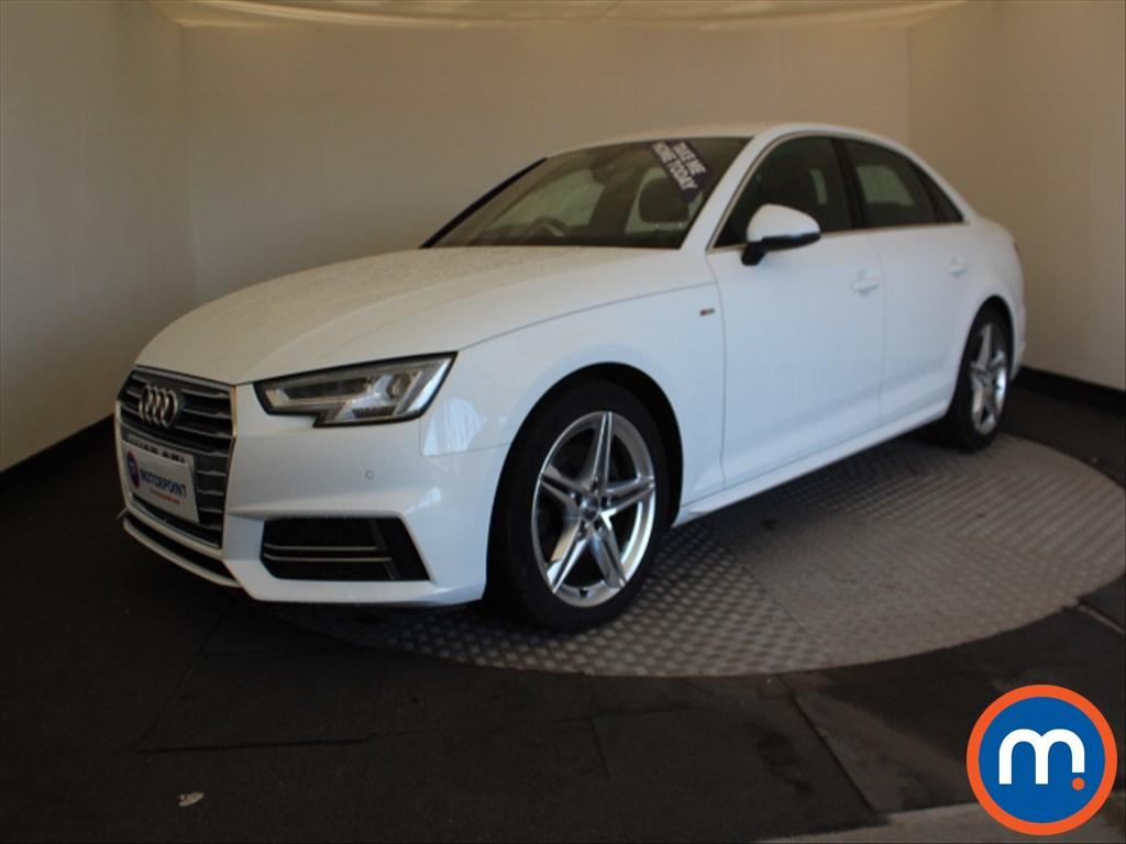 Audi A4 S Line - Stock Number 1066210 Passenger side front corner