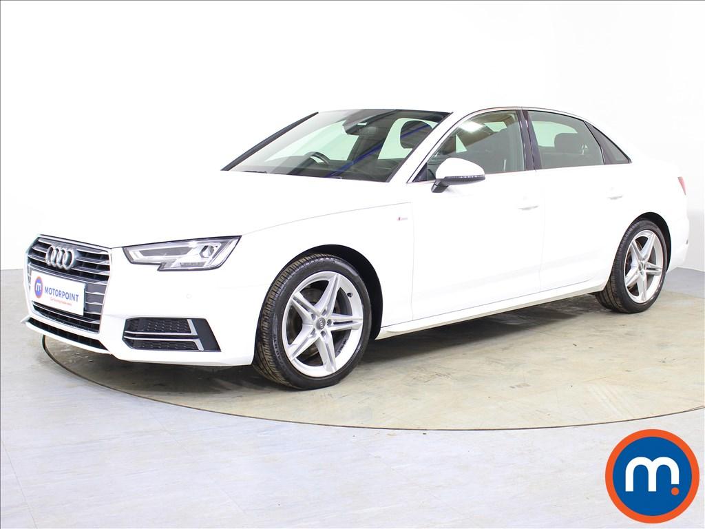Audi A4 S Line - Stock Number 1065670 Passenger side front corner