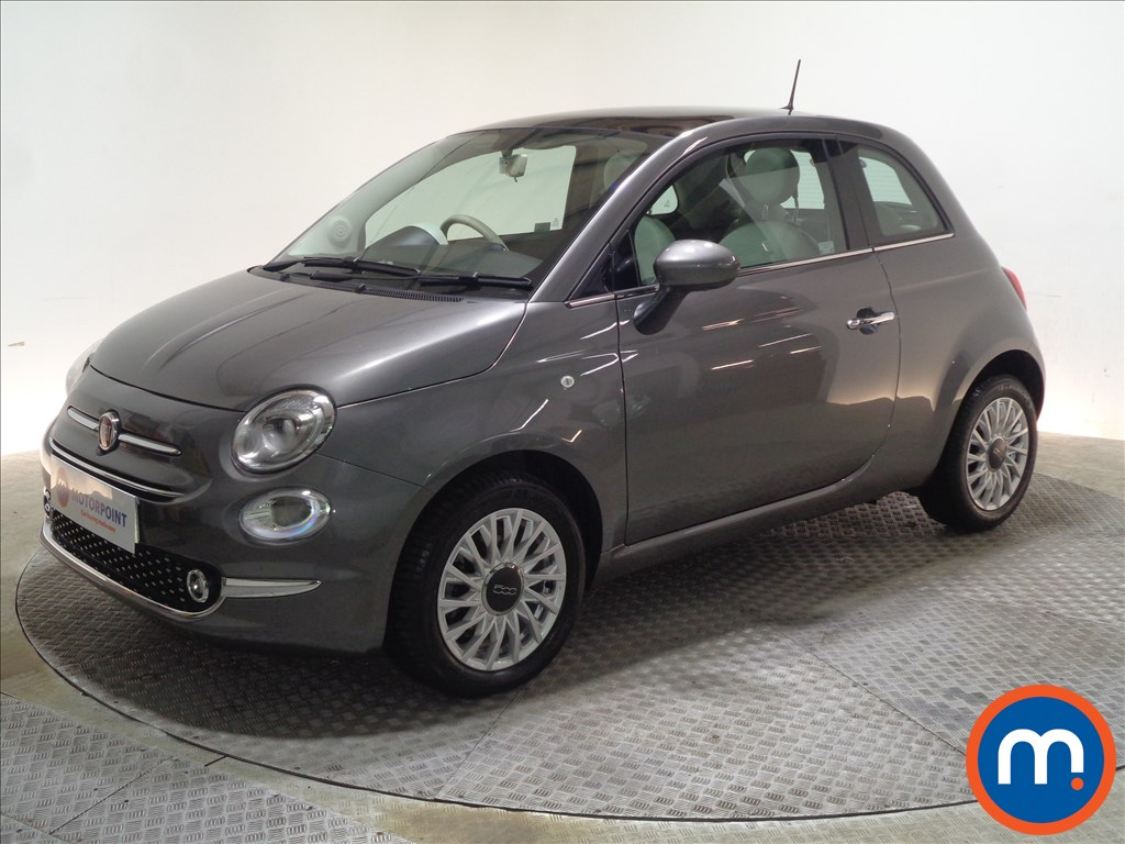 Fiat 500 Lounge - Stock Number 1065608 Passenger side front corner