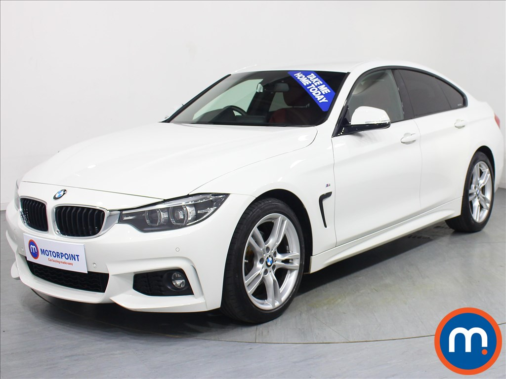 BMW 4 Series M Sport - Stock Number 1065778 Passenger side front corner
