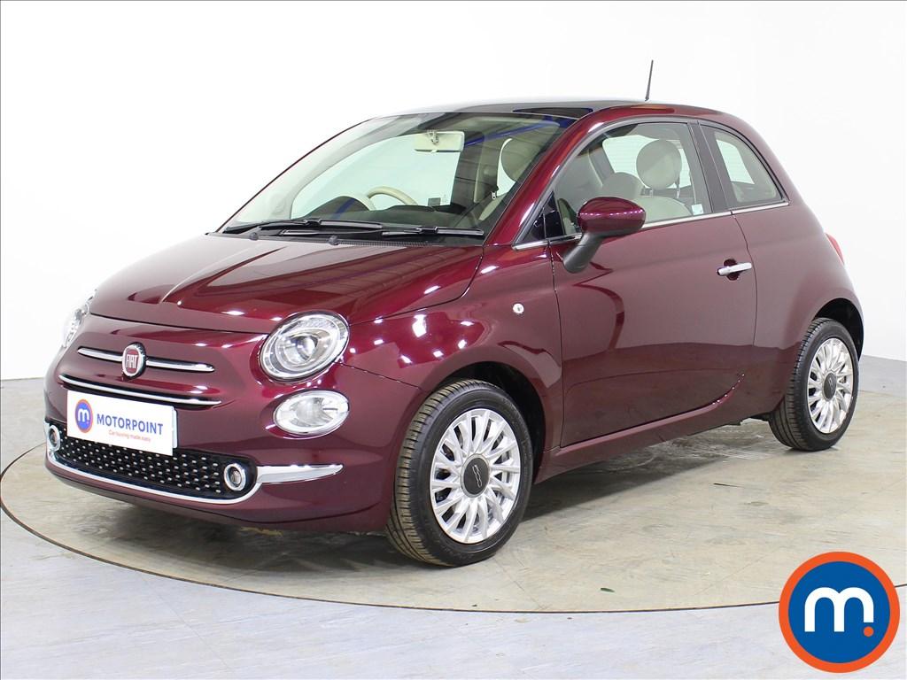 Fiat 500 Lounge - Stock Number 1066519 Passenger side front corner
