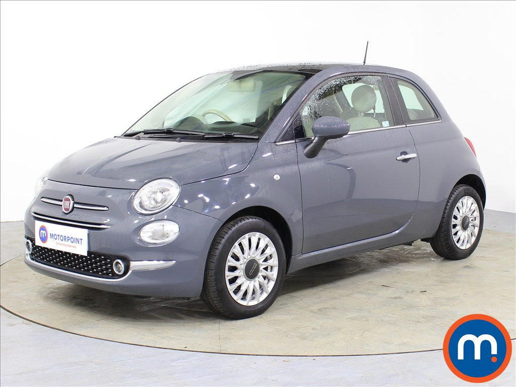 Fiat 500 Lounge - Stock Number 1067909 Passenger side front corner