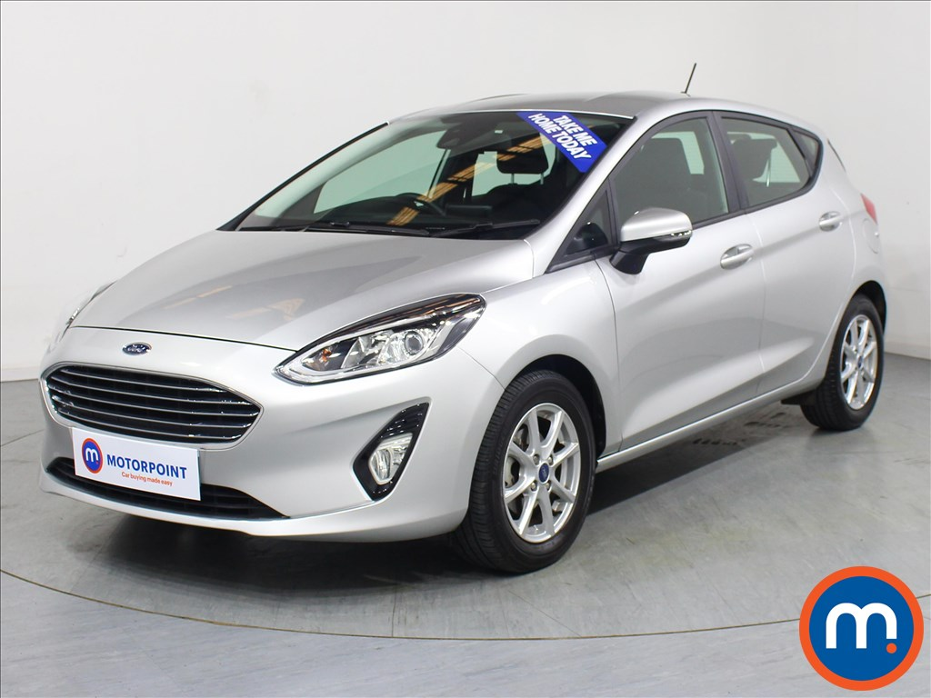 Ford Fiesta Zetec - Stock Number 1067339 Passenger side front corner