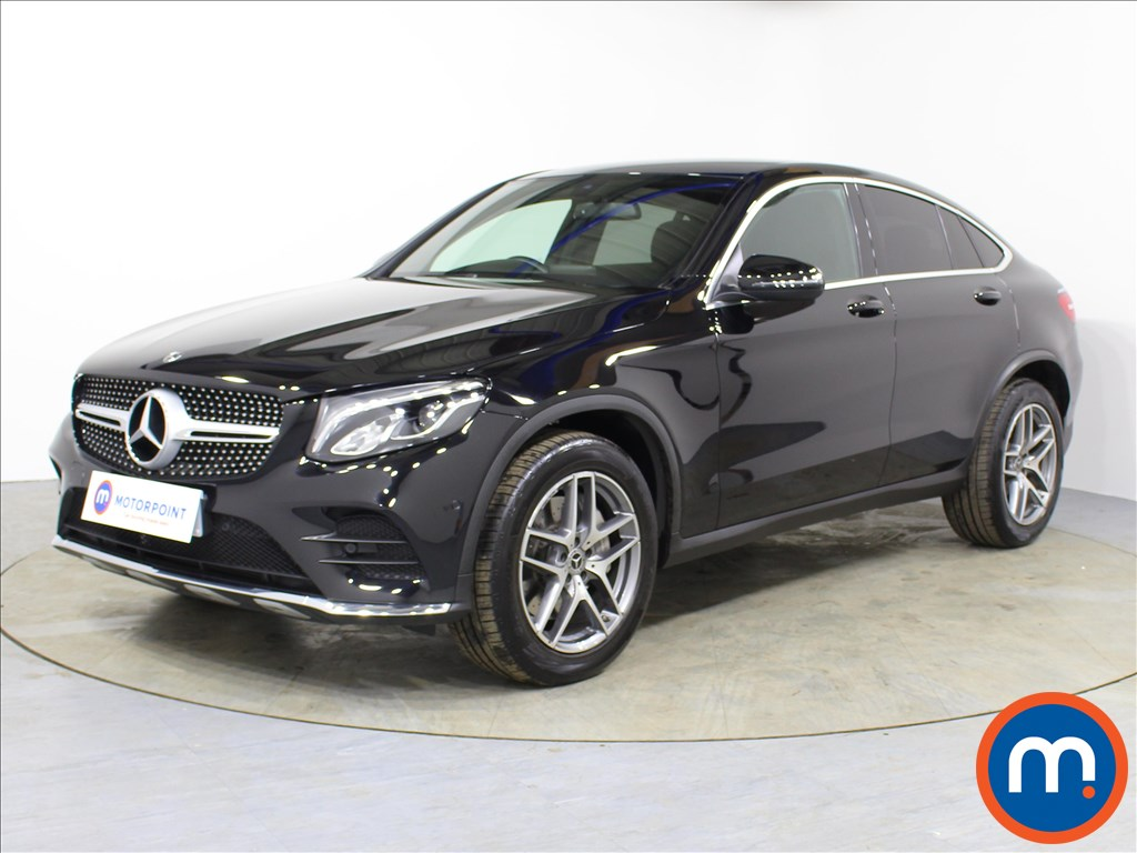 Mercedes-Benz Glc Coupe AMG Line - Stock Number 1060175 Passenger side front corner