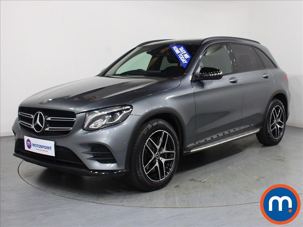 Mercedes-Benz GLC Night Edition - Stock Number 1064424 Passenger side front corner