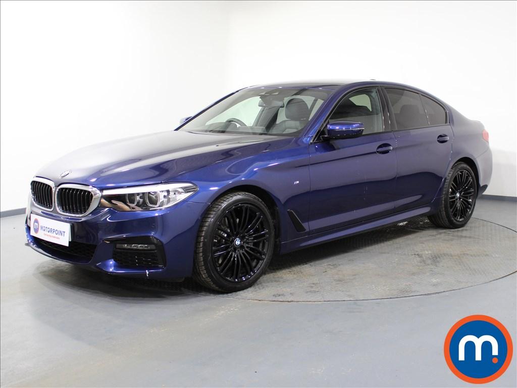 BMW 5 Series M Sport - Stock Number 1066576 Passenger side front corner