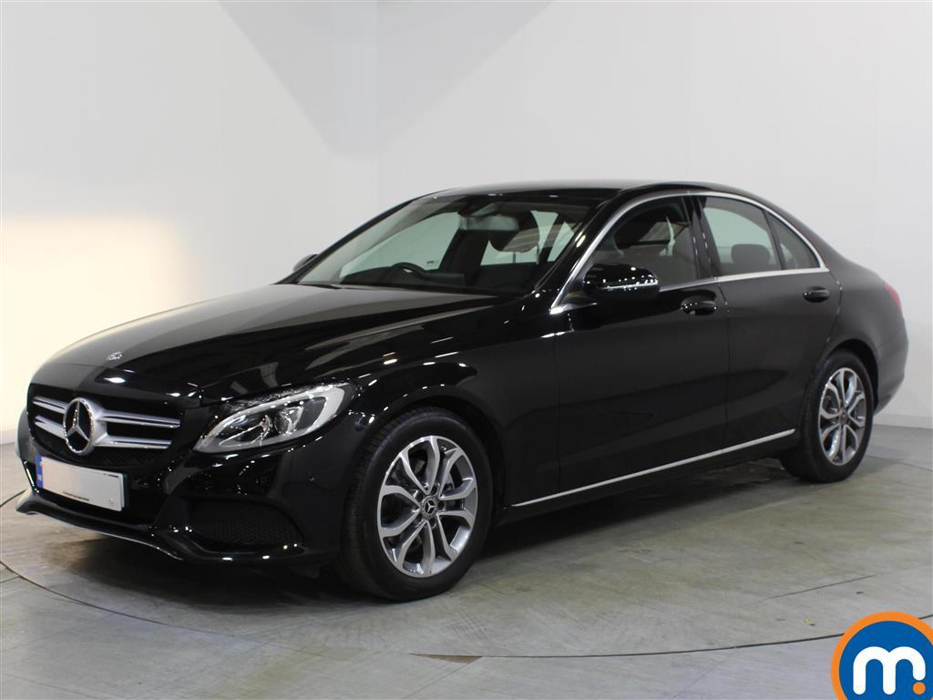 Mercedes-Benz C Class Sport - Stock Number 1068588 Passenger side front corner