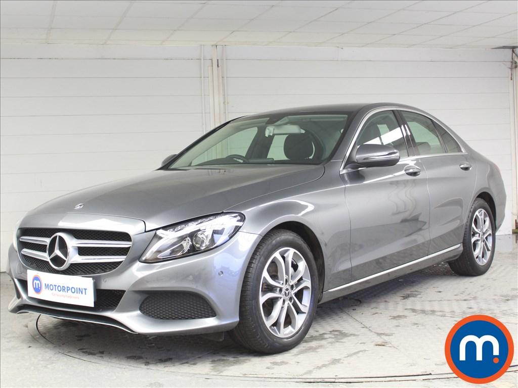 Mercedes-Benz C Class Sport - Stock Number 1068572 Passenger side front corner