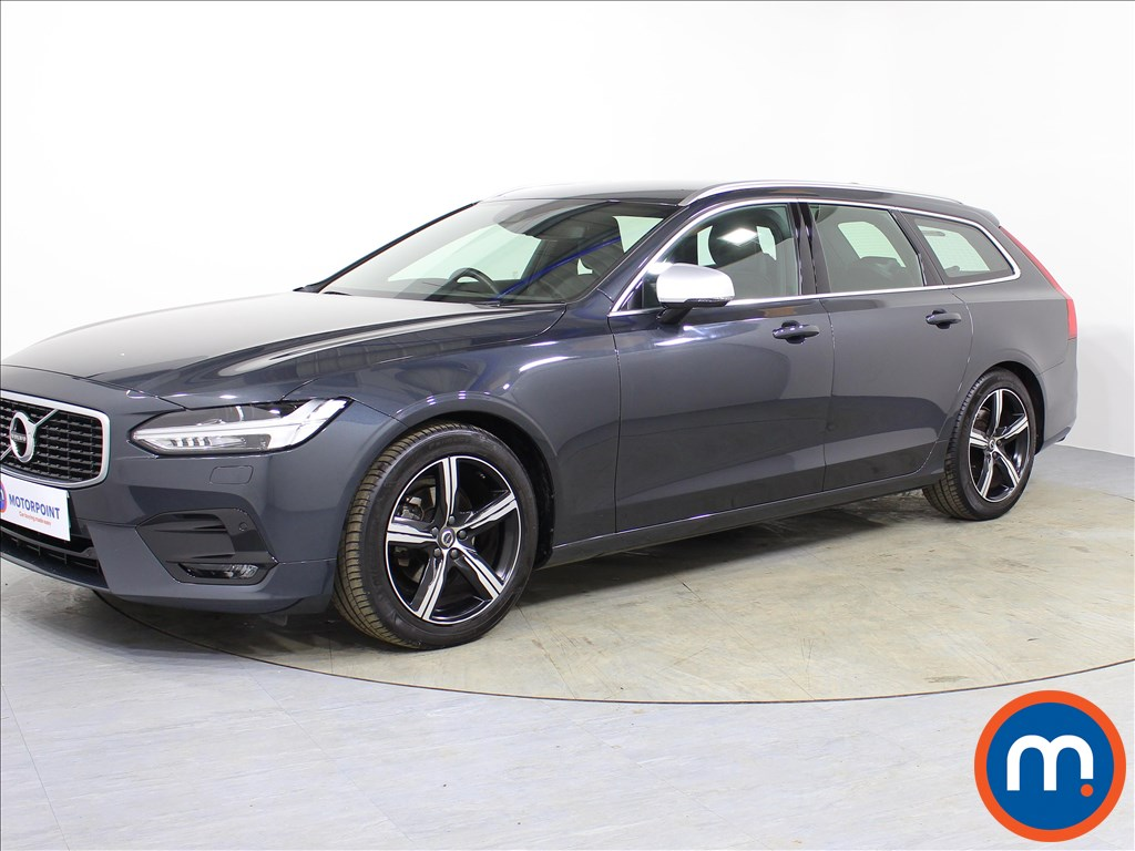 Volvo V90 R DESIGN - Stock Number 1067036 Passenger side front corner