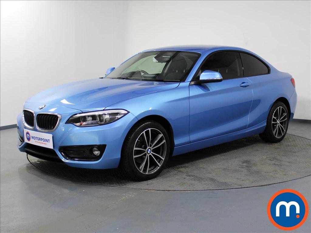 BMW 2 Series Sport - Stock Number 1069229 Passenger side front corner