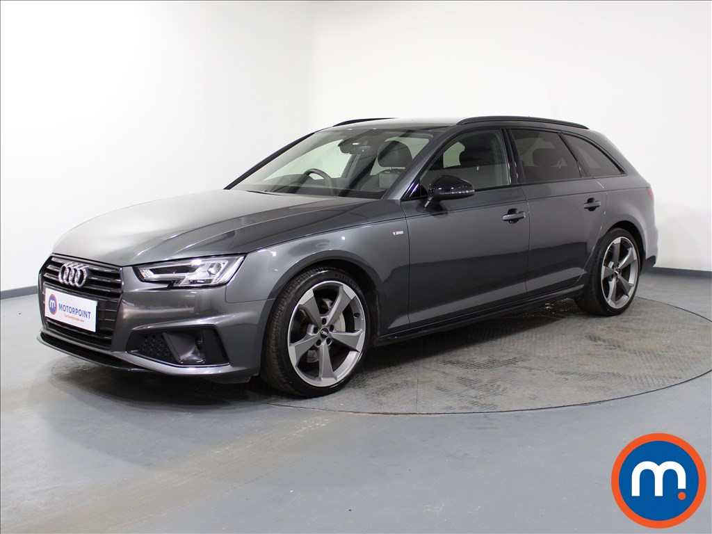 Audi A4 Black Edition - Stock Number 1067590 Passenger side front corner