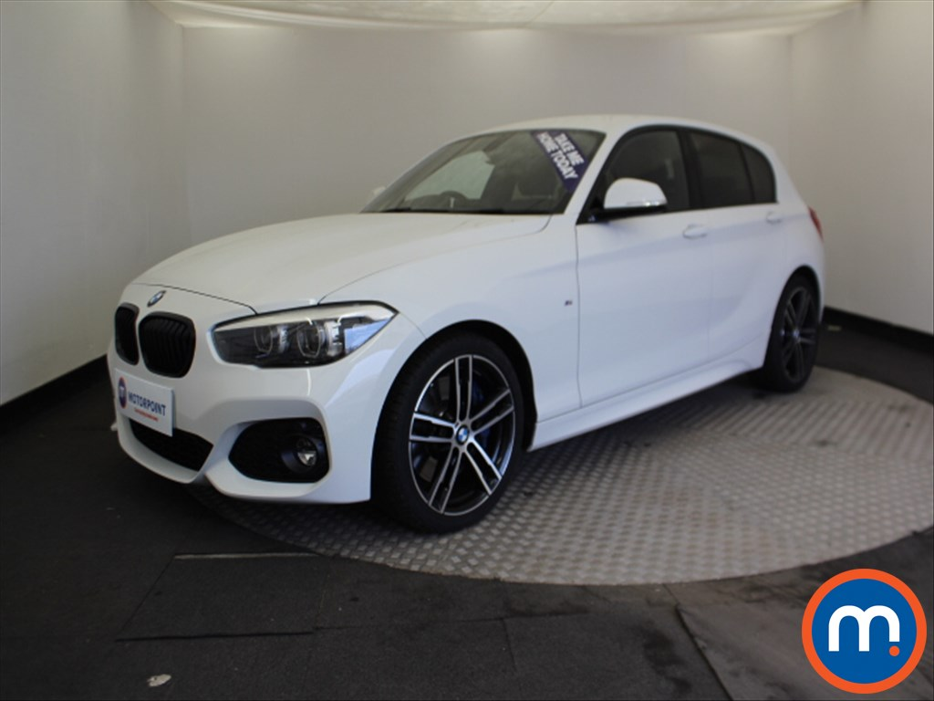 BMW 1 Series M Sport Shadow Edition - Stock Number 1065031 Passenger side front corner