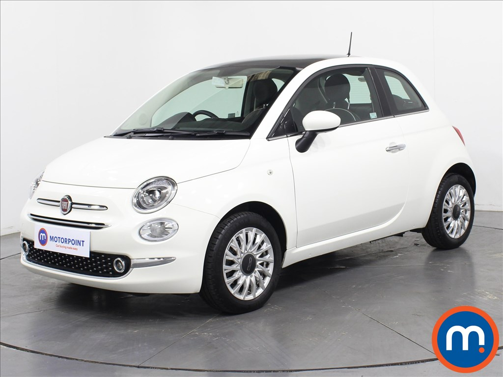 Fiat 500 Lounge - Stock Number 1069744 Passenger side front corner